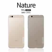 Buy Xiaomi Mi5C case xiaomi mi 5c cover NILLKIN Nature TPU Transparent Clear Soft Back cover case Luxury brand retailed package for $6.19 in AliExpress store