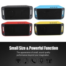 Bluetooth Speaker Sound Portatil Subwoofer TF USB AUX Music Player Speaker Wireless hoparlor Square Speaker For xiaomi Phone PC
