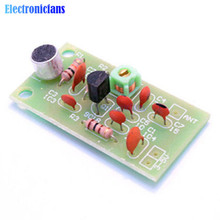 FM Transmitter Module Mini Wireless Microphone Ham Radio Frequency PCB Board 91-103MHz 3V-5V DC for DIY