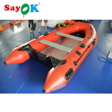 Heavy duty rigid inflatable boat fishing, aluminium floor inflatable pvc boat, inflatable kayak 6 person(China)