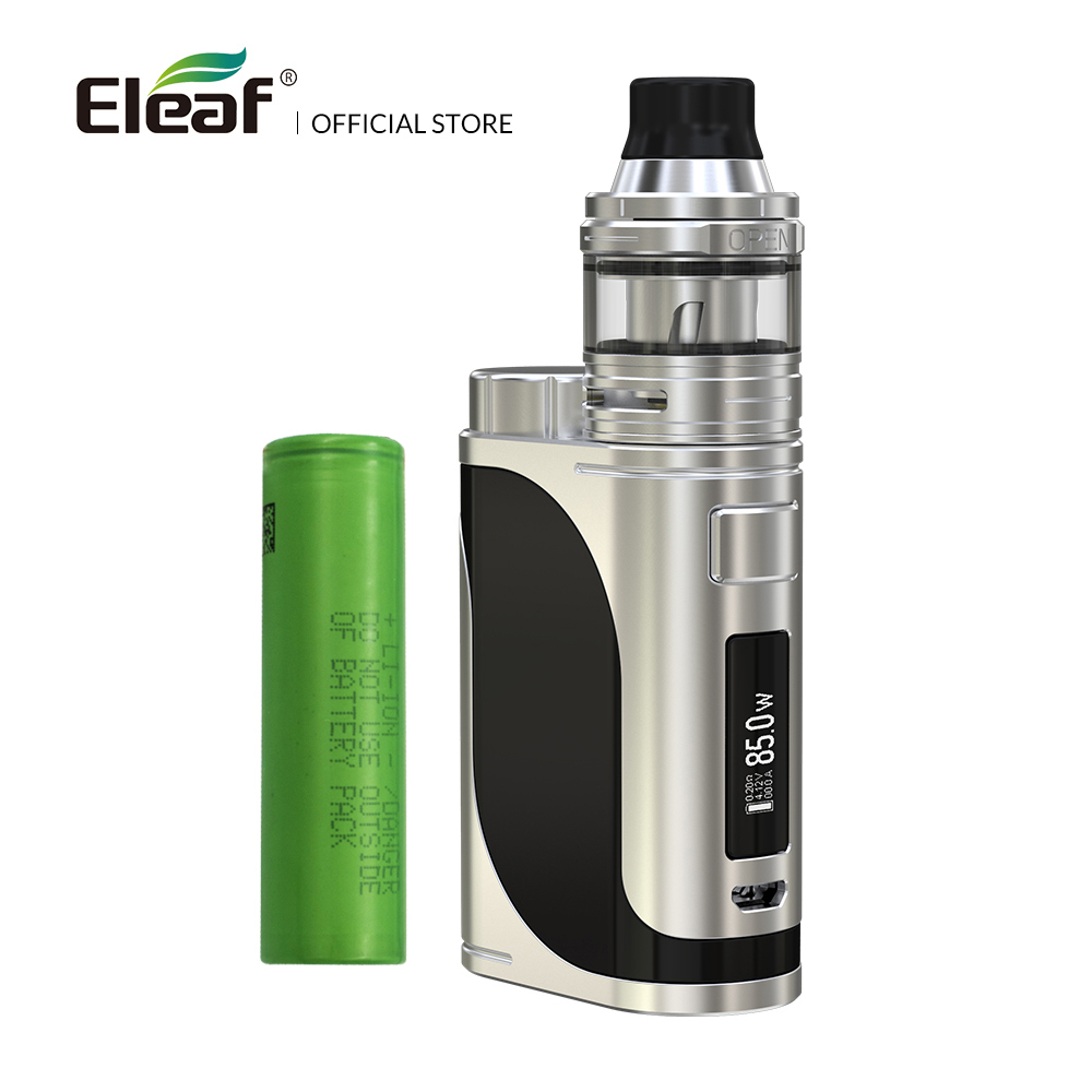 Original Eleaf iStick Pico 25 kit with ELLO atomizer 1-85W 2ml HW1/HW2 coils with 18650 battery electronic cigarette