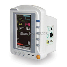 CMS6500 6-Parameters ICU Patient Monitor, EG + NIPB + SPO2 + PR + RESP + TEMP, Touch Screen Medical Monitoring Device equipment