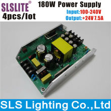 4pcs/lot 24V 180W Led Par Light Power Supply for 54PCS 3W RGBW Par Led Stage Disco DJ Party Stage Lighting Accessories & Parts(China)