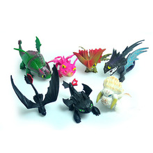 How To Train Your Dragon Toy Action Figures Night Fury Toothless PVC Dragon Children Brinquedos Kids Toys