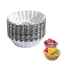 2016 Kitchen pastry moulds slicer tone aluminum egg trat flower cupcake maker baking mould tools(China)