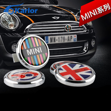 Classic Wreath Metal Front Grill Badge For All MINI Cooper R50 R55 R56 R57 R58 R60 R61 F55 F56 clubman countryman Front Bumper