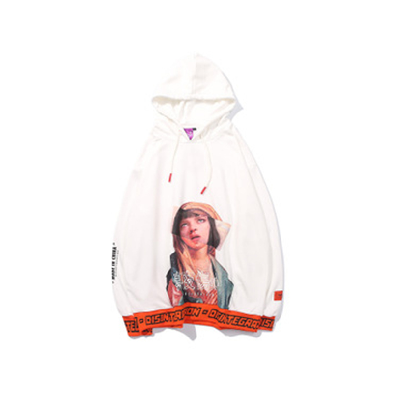 UplzCoo Funny Virgin Mary Hoodie 2018 Men's Women's Hip Hop Hoodie Streetwear  Winter Spring harajuku White 2XL 35%Cotton JA147