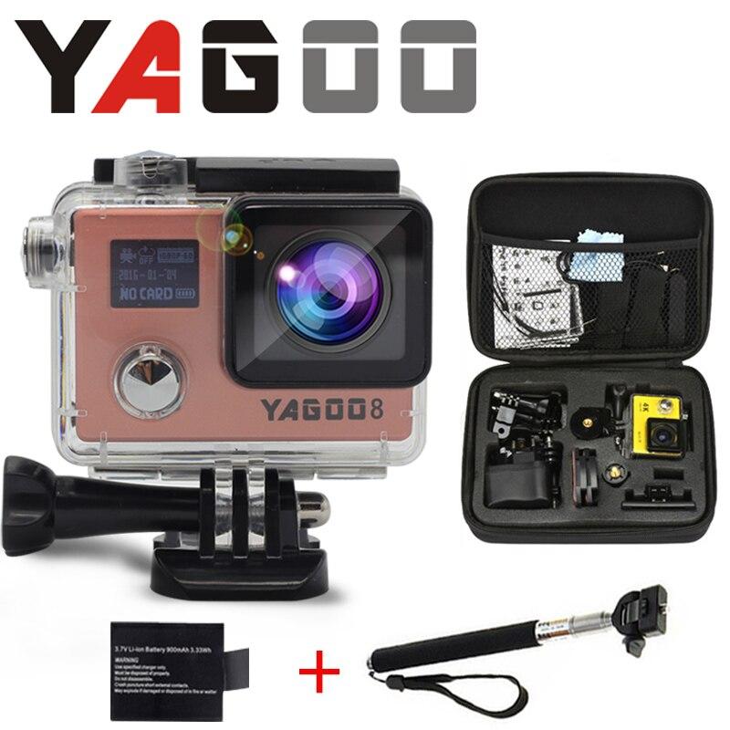gopro hero 4 yagoo8 wifi action camera 4k mini camcorder  sports action video cameras underwater waterproof camera dvr outdoo <br><br>Aliexpress