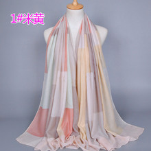 High quality women's fashion cotton scarf shawl Dongkuan cotton embroidered scarves 180-90 CM