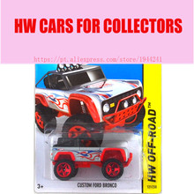 Hot 1:64 Cars wheels CUSTOM BRONCO Metal Alloy Model For Colecter  Wholesale Metal Cars For Car Lovers