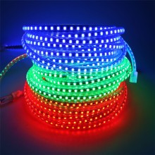 220V Led Strip 2835 120Leds/M IP65 Waterproof With EU Power Adapter Flexible LED Tape String Ribbon Outdoor 1M 2M 5M 10M 15M 20M