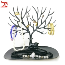 Brand New Jewelry  Deer Horn Stand Necklace Earring Ring Display  Organizer Holder  Plastic  Branch Tree Bracelet  Display Rack