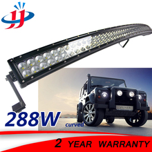 288W curved led light bar offroad boat lighting Running lights for cars Car styling Led beam IP67 waterproof Dune buggy