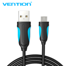 Vention Micro USB Charger Cable USB2.0 Data Sync Cable For Android Phones 5V2A Super Charging Cable For Samsung Xiaomi Microusb(China)