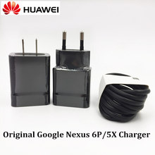 Original Huawei Nexus 6P/5X Fast Charger 5V/3A QC 3.0 Qualcomm Quick Charge Type C Wall Power Adapter For LG GOOGLE Mobile Phone