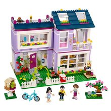 BELA 10541 Friends Series Emma's House Building Blocks Classic For Girl Kids Model Toys Marvel Compatible with Lego