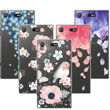 Buy 3D Art Print Case Cover Sony Xperia XZ1 Compact 4.6 inch Soft TPU Relief Lace Phone Cases Funda Sony Xperia XZ1 Compact for $1.46 in AliExpress store