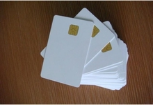 1000PCS/Lot Sle4428& Hi-Co Magentic Chip Smart blank EMV Card Composite Card(China)
