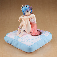 Re Life In A Different World From Zero Rem Pajamas Action Figure Toys Doll Collection Christmas Gift with Box 16cm(China)
