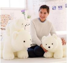 Little White Stuffed Animal Cute Bear Plush Doll Toy Baby Kids Birthday Gift Present Kawaii Plush Toys Brinquedos Lowest Price(China)