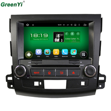 Quad Core Android 5.1.1 Car DVD Player Navigation For MITSUBISHI OUTLANDER PEUGEOT 4007 Car Audio Stereo Multimedia GPS