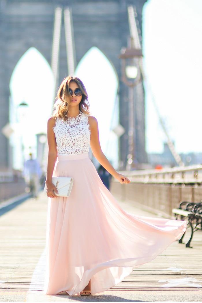 2018 Sexy Womens Elegant Flower Maxi Lace Dress vestido de festa Backless Dress Fashion Pageant Princess Party Formal Long Dress 15