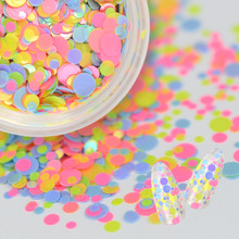SWEET TREND 1Bottle Colorful Ultrathin Mixed Nail Sequins Nail Art Glitter Tips UV Gel 3D Decoration Manicure Accessories LAP39