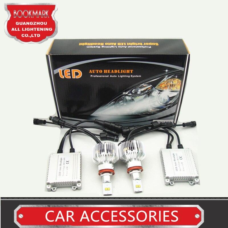9006 HB4 Super Bright 9000lm Car LED Headlight Fog Light Conversion Kit Lumileds LMZ LED Kit K.O. Xenon HID Kit<br><br>Aliexpress