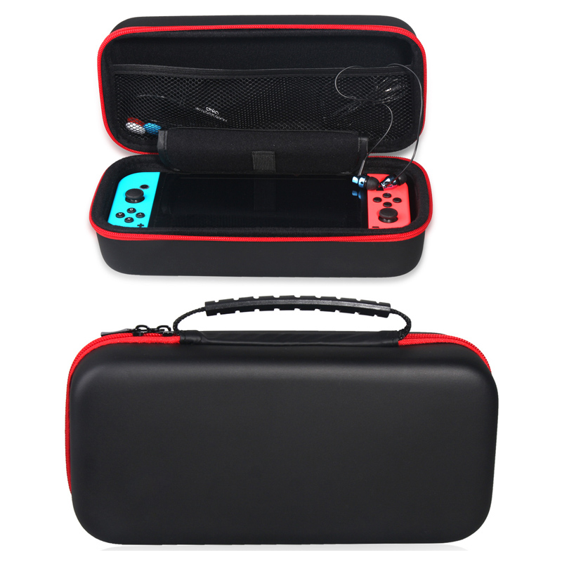 Handheld Portable Double Layer EVA Protective Travel Storage Pouch Carrying Bag Case Cover Nintend Switch NS Accessories