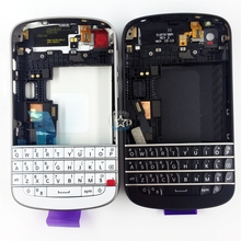 Brand New Full Housing Assembly For Blackberry Q10 Back Cover + Middle Frame + Front Housing + Keypad + LOGO Repair Spare Parts