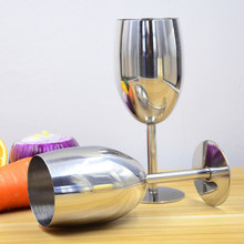 Fashion stainless steel wine cup hanap wine cup champagne glass goblet bar