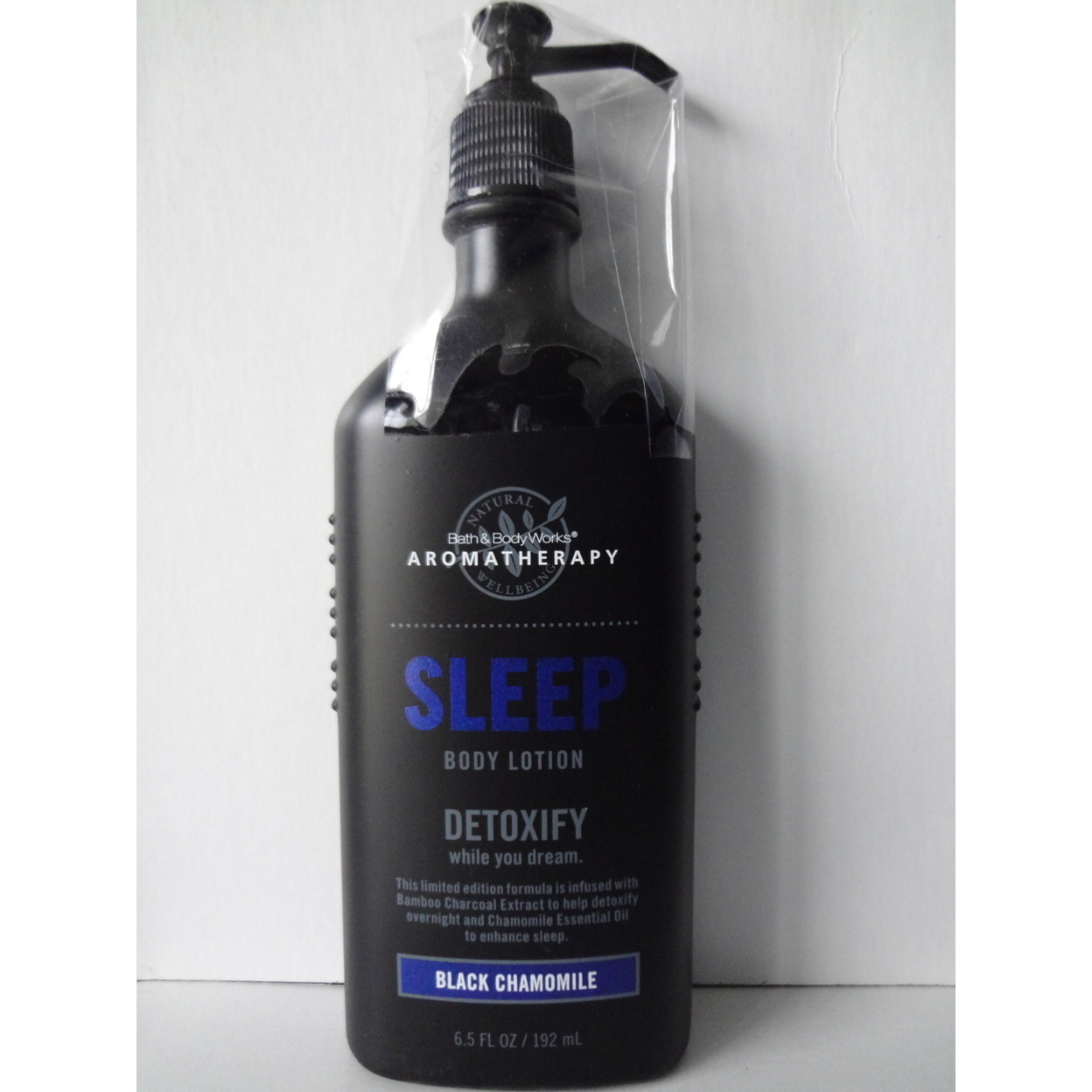 Bath & Body Works Aromatherapy BLACK CHAMOMILE Sleep Body Lotion 6.5 oz / 192 ml