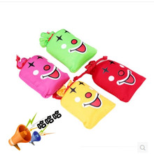 1piece Funny creative Tricky whole person toy Funny novelty toys Music Laughing Bag Haha Bag