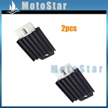 2pcs/lot 12V Voltage Regulator Rectifier 50cc 70cc 90cc 110cc 125cc 150cc Engine Pit Dirt Bike Motorcycle ATV Buggy Scooter
