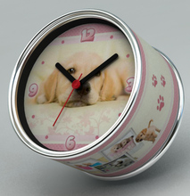 2014 New DIY Dog Design Magnetic Cheap Wall Clocks,Cheap Desk Clocks,Cheap Table Function Clocks