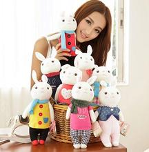 1pc 35CM New Arrival Lovely  Dolls Angela Tiramisu Rabbit Cute Metoo Rabbits Plush Toys for Kids Valentine's Day Gifts