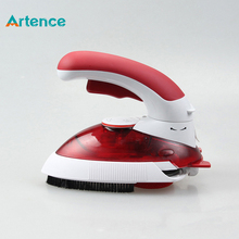 Hot Portable Electric Mini Clothes Steam Iron With 180 Degree Rotatable For Home Travel Handheld Garment Steamer Brush(China)