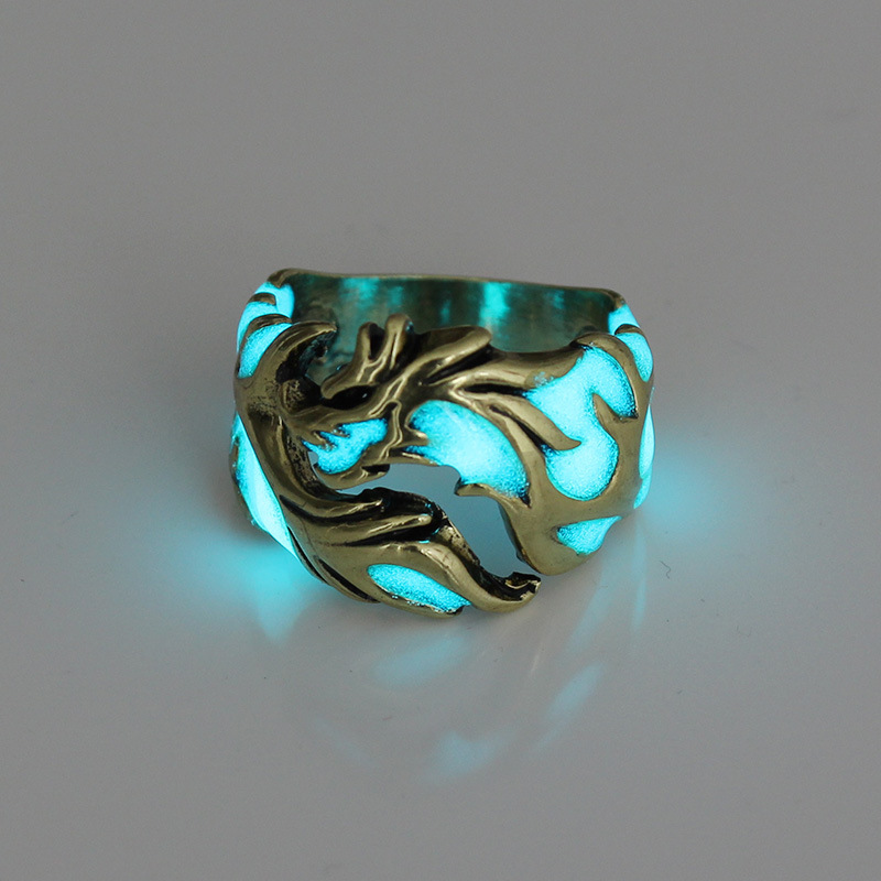 Luminous Dragon Rings