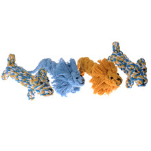 1pc New Chewing Pet Dog Toys Cotton Knot Rope Funny Animal Puppy Dogs Toys for Cats Dog Training Toy Drop Shipping