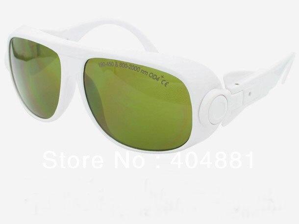 190-450 &amp; 800-2000nm laser safety glasses O.D 4+ CE certified high VLT%<br>