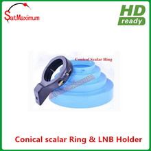 Free shipping Blue color stock Conical Scalar Kit for C band Feedhorn Offset Dish Antenna(China)