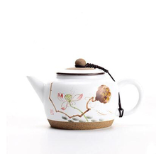 elegant about 220ml handmade clay yixing teapot best Chinese kong fu tea set pots kettle home drinkware T8(China)