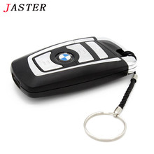 100% Real capacity BMW Car key usb flash drive pendrive 32gb 16gb 8gb pen drive flash card memory stick u disk keychain gifts
