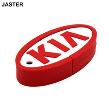 JASTER New KIA car key model usb flash drive pendrive 4gb 8gb 16gb 32gb 64gb memory stivk u disk keychain usb creativo gift