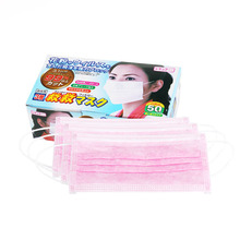 50pcs Professional Makeup artist Best Selling Product Elastic Ear Loop Disposable Medical Dustproof Surgical Face Mouth Masks(China)
