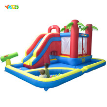 New Children Water Park Giant Inflatable Games Inflatable Water Slide Area To Play And Ball Pool