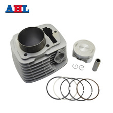 Motorcycle Engine Parts For HONDA SL230 XR230 CRF230 FTR223 FTR230 Air Cylinder Block & Piston Kit & Cylinder Head Gasket(China)
