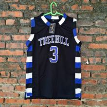 Movie Jerseys #3 The film version of One Tree Hill Lucas Scott Need double stitched mesh basketball jersey for men free shipping