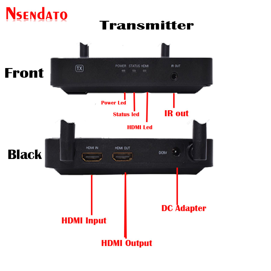 100M Wireless HDMI Extender (3)