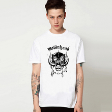 Street Style Punk Die Logo Sublimation Graphic Print T Shirt Manga T-shirt White Summer Style Tshirt Hippie Hot Sale Motorhead
